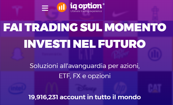 IQ Option miglior broker Forex
