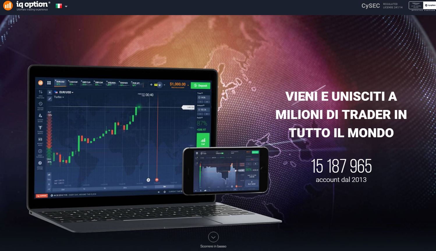 iq option recensione