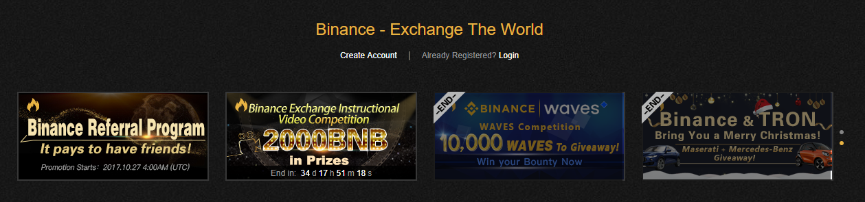 binance exchange migliore al mondo